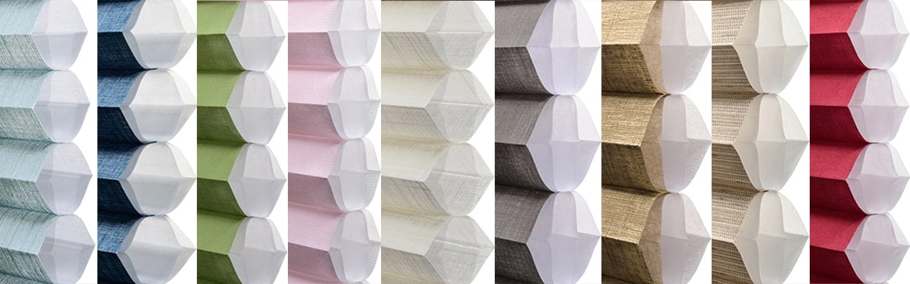 Hunter Douglas DUETTE Honeycomb Shade Colors (1)