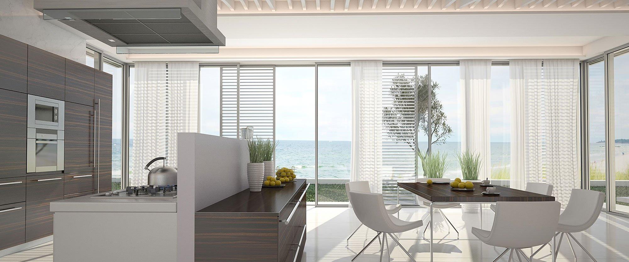 Modern kitchen window treatments - Finest Kitchen Window Treatment Ideas For Your Home With Modern Kitchen Window Treatments